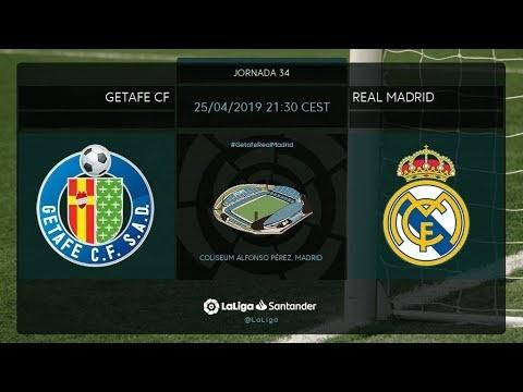 Calentamiento Getafe FC vs Real Madrid