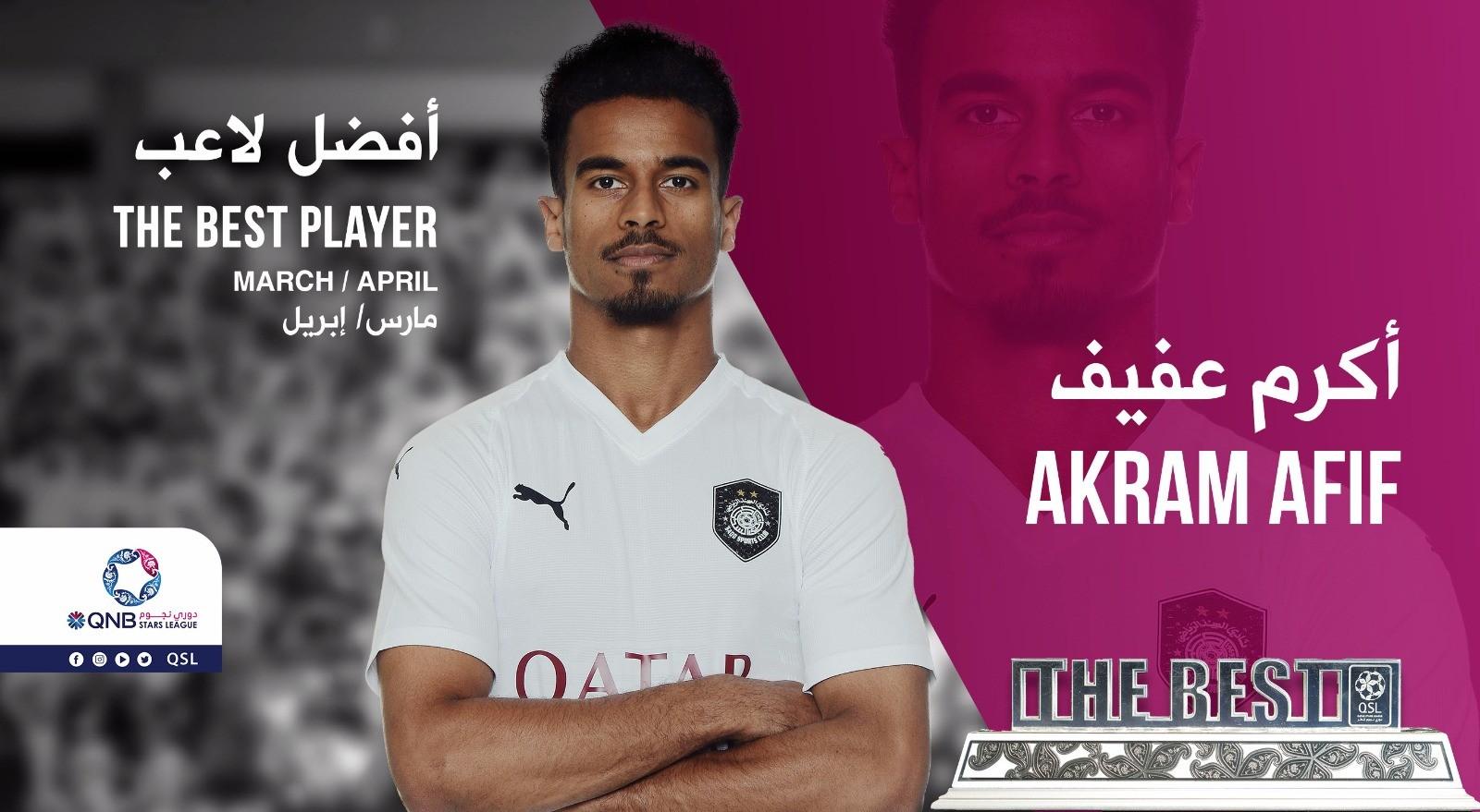 QNB Stars League — March & April, 2019 — Akram Afif (Al Sadd)