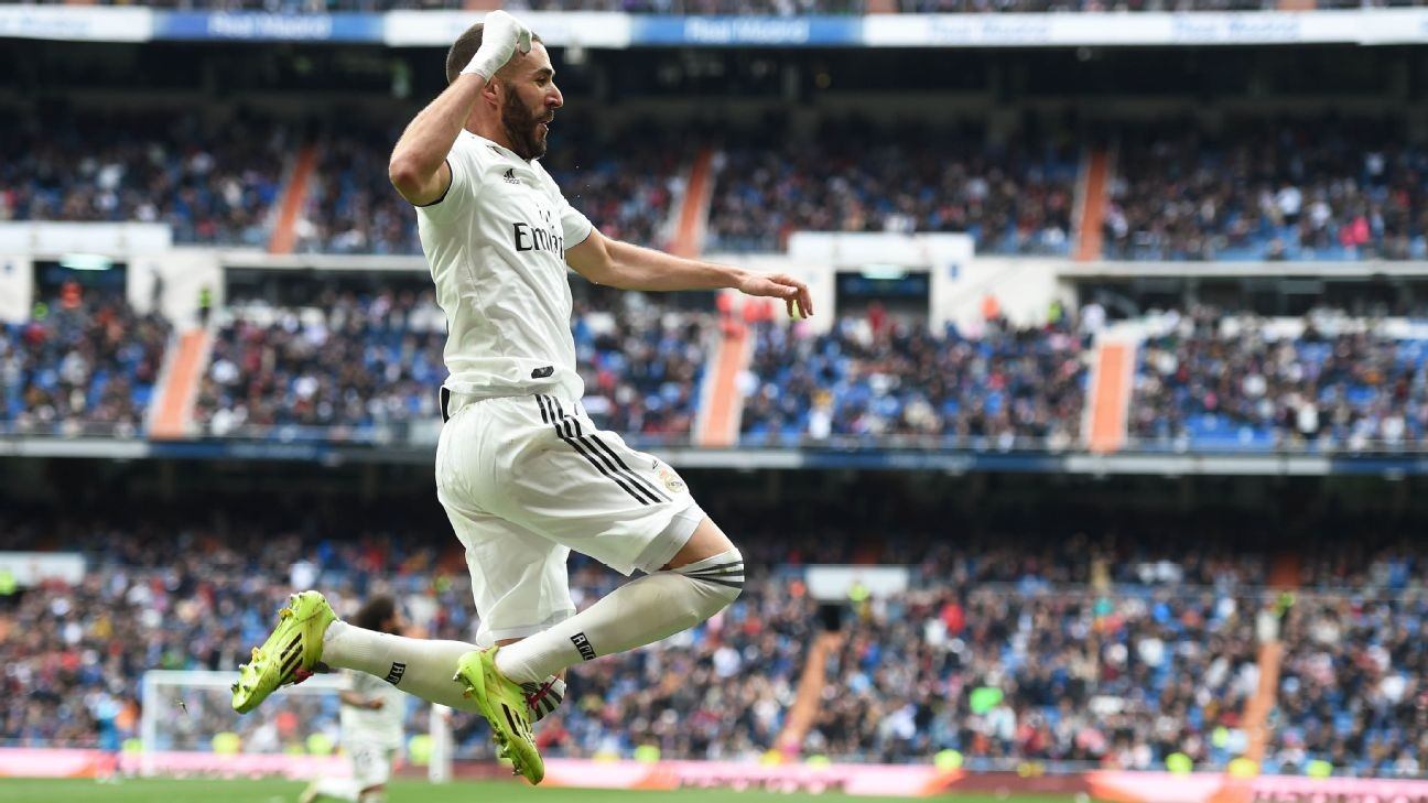 Karim Benzema's hat trick paces Real Madrid in comfortable win over Athletic Bilbao