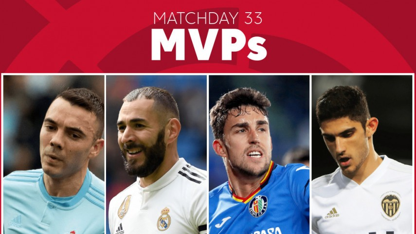 Who was your MVP from Matchday 33 of LaLiga Santander?