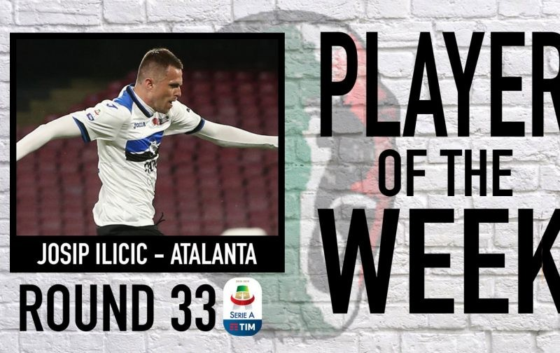 Serie A Player of the Week | Round 33