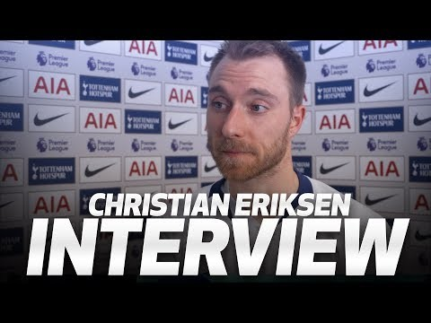 INTERVIEW | CHRISTIAN ERIKSEN ON LATE BRIGHTON WINNER | Spurs 1-0 Brighton and Hove Albion