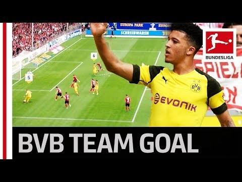 Sancho Finishes Off Dortmund's Super Combination – Perfect One-Touch Football