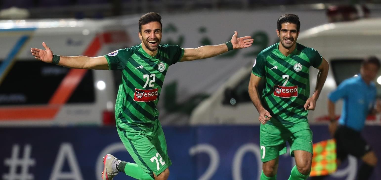 Group A: Zobahan FC (IRN) 2-0 Al Wasl FC (UAE)