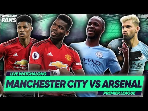 LIVE: MANCHESTER UNITED vs MANCHESTER CITY | #ArmChairFans