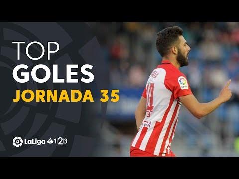 Todos los goles de la Jornada 35 de LaLiga 1|2|3 2018/2019