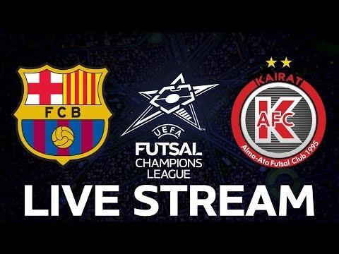 Barcelona vs. Kairat: UEFA Futsal Champions League LIVE!