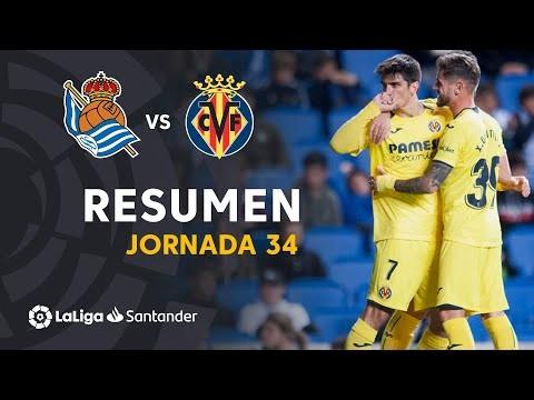 Resumen de Real Sociedad vs Villarreal CF (0-1)