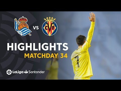 Highlights Real Sociedad vs Villarreal CF (0-1)