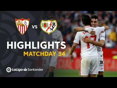 Highlights Sevilla FC vs Rayo Vallecano (5-0)