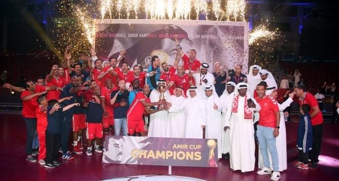 Handball: Al Arabi crowned Amir Cup champions