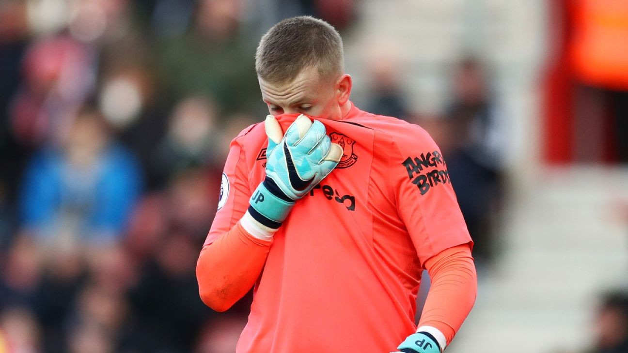 Pickford, Stones, Trippier and Maguire struggle after England World Cup heroics