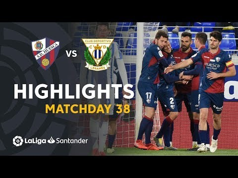 Highlights SD Huesca vs CD Leganes (2-1)