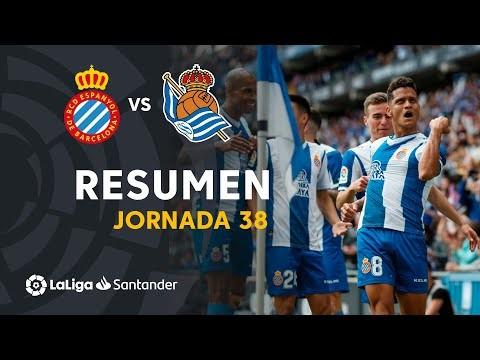 Resumen de RCD Espanyol vs Real Sociedad (2-0)