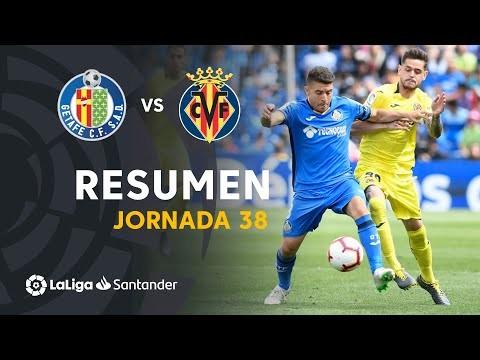 Resumen de Getafe CF vs Villarreal CF (2-2)