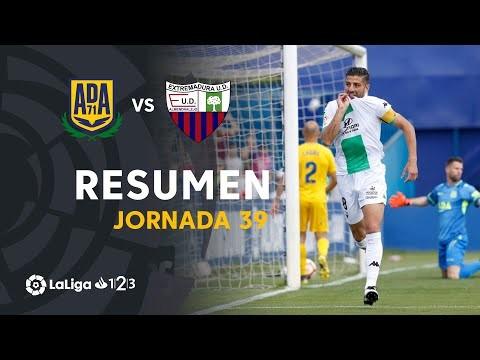 Resumen de AD Alcorcón vs Extremadura UD (0-1)