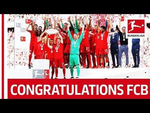 FC Bayern München - 2018/19 Bundesliga Title Celebrations
