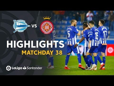 Highlights Deportivo Alaves vs Girona FC (2-1)