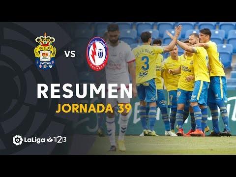 Resumen de UD Las Palmas vs CF Rayo (3-2)