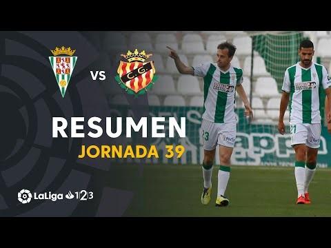 Resumen de Córdoba CF vs Nàstic (4-3)