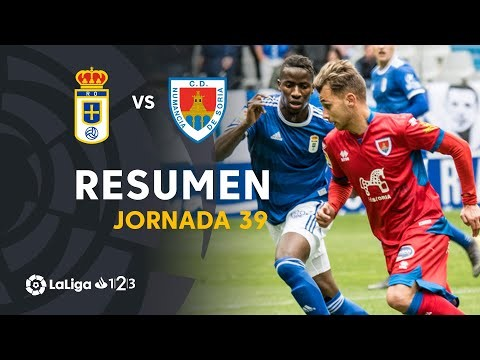 Resumen de Real Oviedo vs CD Numancia (1-0)