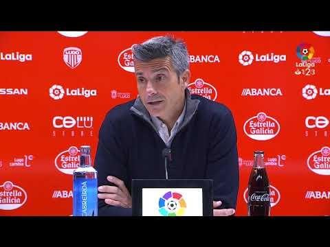 Rueda de prensa de Pep Lluís Martí tras el CD Lugo vs RC Deportivo (1-0)
