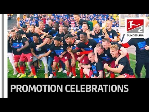 Welcome Back to the Bundesliga SC Paderborn - Emotional Promotion Celebrations