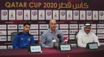 Al Sailiya coach Sami Trabelsi and player Mubarak Boussoufa speak ahead of their 2020 Qatar Cup semifinal against Al Duhail