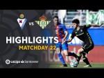 Highlights SD Eibar vs Real Betis (1-1)