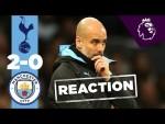 PEP GUARDIOLA'S REACTION TO SPURS LOSS | SPURS 2-0 MAN CITY