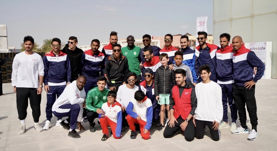 Qatar Stars League partners Education Above All in Sports Day activities