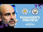 SILVA AND STERLING LATEST | PEP'S PRESS CONFERENCE | LEICESTER v MAN CITY