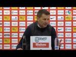 Rueda de prensa de  Djukic tras el Real Sporting vs Cádiz CF (1-0)