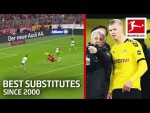 Top 10 Substitute Game-Changers Since 2000 - Ribery, Haaland, Lewandowski & More
