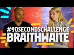 FIRST THING YOU DID TODAY? | MARTIN BRAITHWAITE #90secondschallenge
