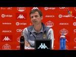 Rueda de prensa de  José Ángel Ziganda tras el CD Lugo vs Real Oviedo (1-0)