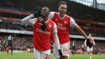 Aubameyang double helps Arsenal edge Everton in goal fest as Gomes makes shock return