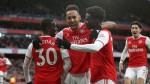 Saka, Aubameyang both 7/10 in glimpse of Arsenal's future