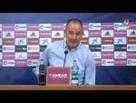 Rueda de prensa de Víctor Fernández tras el Real Zaragoza vs RC Deportivo (3-1)