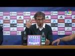 Rueda de prensa de Fernando Vázquez tras el Real Zaragoza vs RC Deportivo (3-1)