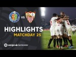 Highlights Getafe CF vs Sevilla FC (0-3)
