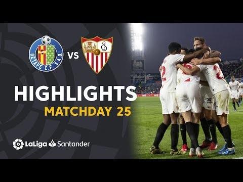 Highlights Getafe CF vs Sevilla FC (0-3)