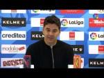 Rueda de prensa de Míchel tras el Rayo Vallecano vs SD Huesca (2-0)