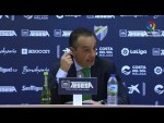 Rueda de prensa de José Luis Oltra tras el Málaga CF vs Real Racing Club (2-0)