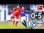 FC Schalke 04 vs. RB Leipzig I 0-5 I Nkunku's 4 Assists, Werner's Stunner & Great Schalke Fans