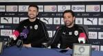 Al Sadd coach Xavi and player Gabi speak ahead of their Qatar Clasico against Al Rayyan