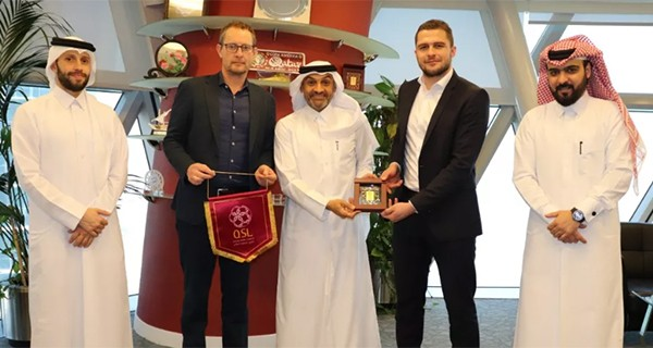 Bundesliga delegation visits QSL