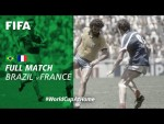 #WorldCupAtHome | Brazil vs France (Mexico 1986)