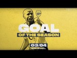 ❤️You will LOVE this video! | Arsenal Goals of the season | 2003/04 | Invincibles