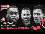 FIFA20: Wan-Bissaka vs McNeil | Stay Home. Play Together - With Rio Ferdinand